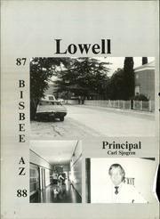 Page 6, 1988 Edition, Lowell Middle School - Yearbook (Bisbee, AZ) online yearbook collection
