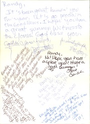 Page 4, 1986 Edition, Poston Junior High School - Poston Panthers Yearbook (Mesa, AZ) online yearbook collection
