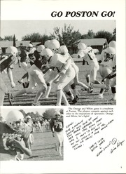 Page 9, 1986 Edition, Poston Junior High School - Poston Panthers Yearbook (Mesa, AZ) online yearbook collection