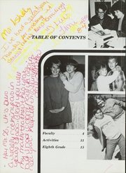 Page 6, 1986 Edition, Royal Palm Middle School - Raiders Yearbook (Phoenix, AZ) online yearbook collection