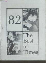 1982 Edition, Tse Ho Tso Middle School - Best of Times Yearbook (Fort Defiance, AZ)