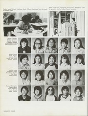 Page 14, 1982 Edition, Tse Ho Tso Middle School - Best of Times Yearbook (Fort Defiance, AZ) online yearbook collection