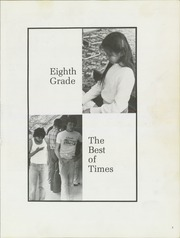 Page 7, 1982 Edition, Tse Ho Tso Middle School - Best of Times Yearbook (Fort Defiance, AZ) online yearbook collection