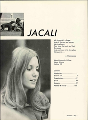 Page 9, 1972 Edition, Mesa Community College - Jacali Yearbook (Mesa, AZ) online yearbook collection