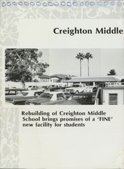Page 12, 1987 Edition, Creighton Middle School - Pride Yearbook (Phoenix, AZ) online yearbook collection