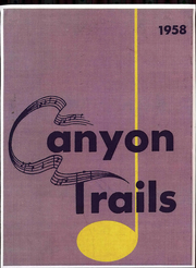 Page 1, 1958 Edition, Grand Canyon University - Canyon Trails Yearbook (Phoenix, AZ) online yearbook collection