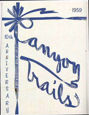 1959 Edition, Grand Canyon University - Canyon Trails Yearbook (Phoenix, AZ)