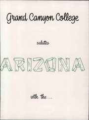Page 9, 1960 Edition, Grand Canyon University - Canyon Trails Yearbook (Phoenix, AZ) online yearbook collection