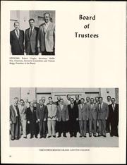 Page 16, 1961 Edition, Grand Canyon University - Canyon Trails Yearbook (Phoenix, AZ) online yearbook collection