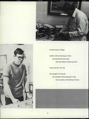 Page 10, 1971 Edition, Grand Canyon University - Canyon Trails Yearbook (Phoenix, AZ) online yearbook collection