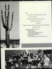 Page 8, 1971 Edition, Grand Canyon University - Canyon Trails Yearbook (Phoenix, AZ) online yearbook collection