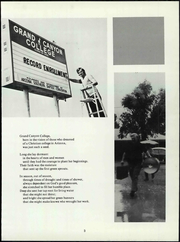 Page 9, 1971 Edition, Grand Canyon University - Canyon Trails Yearbook (Phoenix, AZ) online yearbook collection