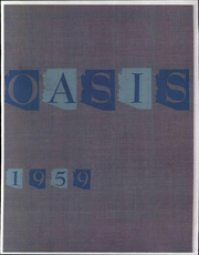 Page 1, 1959 Edition, Eastern Arizona College - Oasis Yearbook (Thatcher, AZ) online yearbook collection