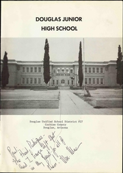 Page 7, 1979 Edition, Douglas Junior High School - Yearbook (Douglas, AZ) online yearbook collection
