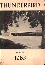 Page 1, 1963 Edition, Doolen Middle School - Thunderbird Yearbook (Tucson, AZ) online yearbook collection