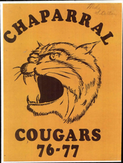 Page 1, 1977 Edition, Chaparral Middle School - Cougars Yearbook (Tucson, AZ) online yearbook collection