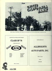 Page 206, 1970 Edition, Hemet High School - Tahquitz Yearbook (Hemet, CA) online yearbook collection