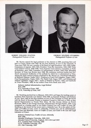 Page 17, 1958 Edition, University of Texas Law School - Peregrinus Yearbook (Austin, TX) online yearbook collection