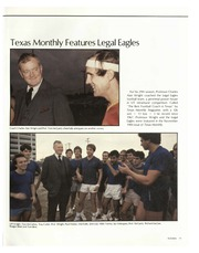 Page 15, 1985 Edition, University of Texas School of Law - Peregrinus Yearbook (Austin, TX) online yearbook collection