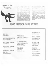 Page 9, 1985 Edition, University of Texas School of Law - Peregrinus Yearbook (Austin, TX) online yearbook collection