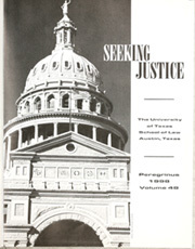 Page 5, 1998 Edition, University of Texas School of Law - Peregrinus Yearbook (Austin, TX) online yearbook collection