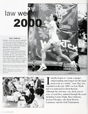 Page 16, 2000 Edition, University of Texas Law School - Peregrinus Yearbook (Austin, TX) online yearbook collection
