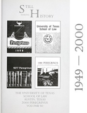 Page 5, 2000 Edition, University of Texas Law School - Peregrinus Yearbook (Austin, TX) online yearbook collection