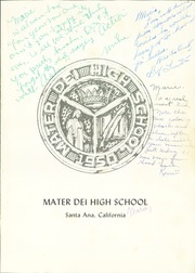 Page 5, 1963 Edition, Mater Dei High School - Crown Yearbook (Santa Ana, CA) online yearbook collection