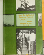 Page 5, 1973 Edition, Mater Dei High School - Crown Yearbook (Santa Ana, CA) online yearbook collection