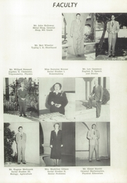 Page 11, 1952 Edition, Vista High School - La Revista Yearbook (Vista, CA) online yearbook collection