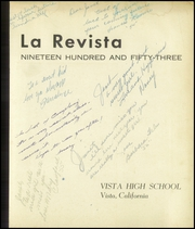 Page 5, 1953 Edition, Vista High School - La Revista Yearbook (Vista, CA) online yearbook collection