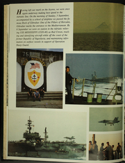 Page 14, 1996 Edition, USS Monterey (CG 61) - Naval Cruise Book online yearbook collection