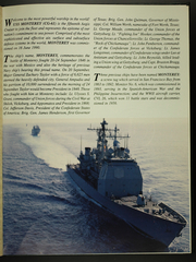 Page 5, 1996 Edition, USS Monterey (CG 61) - Naval Cruise Book online yearbook collection