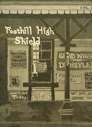 Page 1, 1972 Edition, Foothill High School - Shield Yearbook (Tustin, CA) online yearbook collection