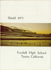 Page 5, 1975 Edition, Foothill High School - Shield Yearbook (Tustin, CA) online yearbook collection