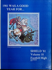 Page 5, 1981 Edition, Foothill High School - Shield Yearbook (Tustin, CA) online yearbook collection