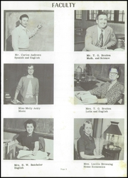 Page 13, 1954 Edition, Forrest City High School - Corral Yearbook (Forrest City, AR) online yearbook collection