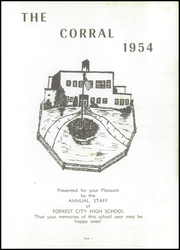 Page 5, 1954 Edition, Forrest City High School - Corral Yearbook (Forrest City, AR) online yearbook collection