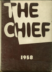 1958 Edition, Central High School - Chief Yearbook (West Helena, AR)