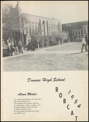Page 7, 1954 Edition, Dumas High School - Bobcat Yearbook (Dumas, AR) online yearbook collection