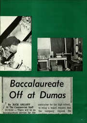 Page 15, 1974 Edition, Dumas High School - Bobcat Yearbook (Dumas, AR) online yearbook collection
