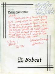 Page 5, 1985 Edition, Dumas High School - Bobcat Yearbook (Dumas, AR) online yearbook collection
