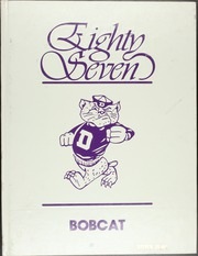 1987 Edition, Dumas High School - Bobcat Yearbook (Dumas, AR)