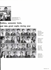Page 191, 1971 Edition, Southside High School - Southerner Yearbook (Fort Smith, AR) online yearbook collection