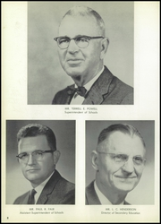 Page 12, 1960 Edition, Hall High School - Warrior Yearbook (Little Rock, AR) online yearbook collection