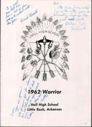 Page 5, 1962 Edition, Hall High School - Warrior Yearbook (Little Rock, AR) online yearbook collection