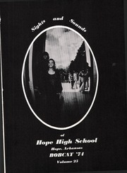 Page 5, 1974 Edition, Hope High School - Bobcat Yearbook (Hope, AR) online yearbook collection