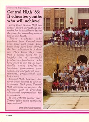 Page 12, 1985 Edition, Little Rock Central High School - Pix Yearbook (Little Rock, AR) online yearbook collection