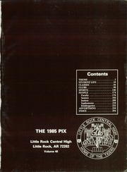 Page 5, 1985 Edition, Little Rock Central High School - Pix Yearbook (Little Rock, AR) online yearbook collection