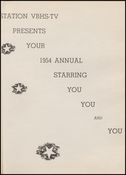 Page 5, 1954 Edition, Van Buren High School - Pointer Yearbook (Van Buren, AR) online yearbook collection